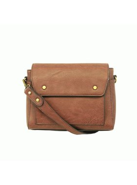 JOY Accessories Saddle Taylor Satchel Crossbody