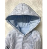 Little Me Reversible Jacket with Hood - Blue