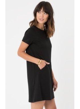 Z Supply The Chloe Ponte Dress - Black