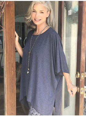 D and D Wholesale Staci Oversized Top