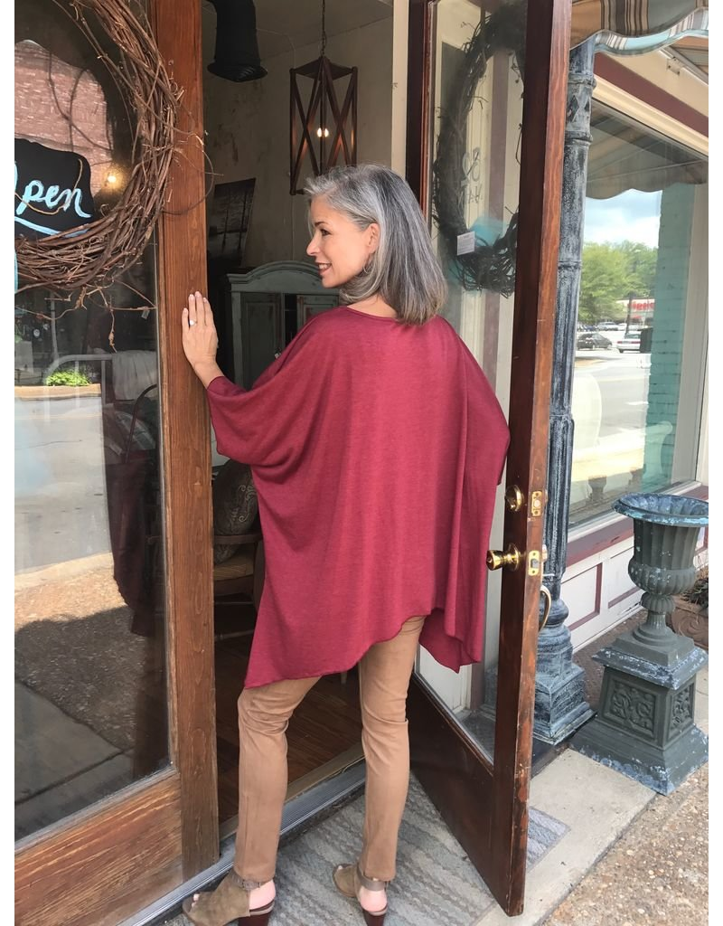D and D Wholesale One Size French Terry Top