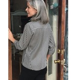 Foxcroft Slimming Striped Blouse by Foxcroft