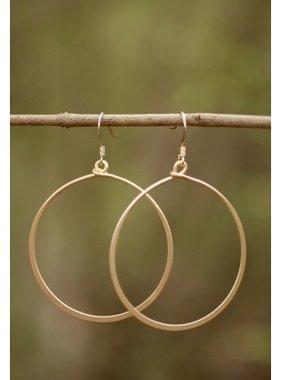 Caroline Hill Large Hoop Earrings