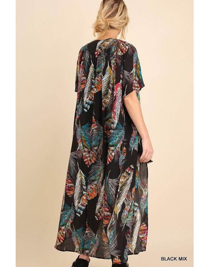 Umgee Feather Kimono
