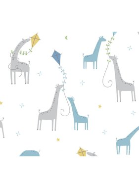 Angel Dear Bamboo Swaddle Blanket with Giraffes by Angel Dear