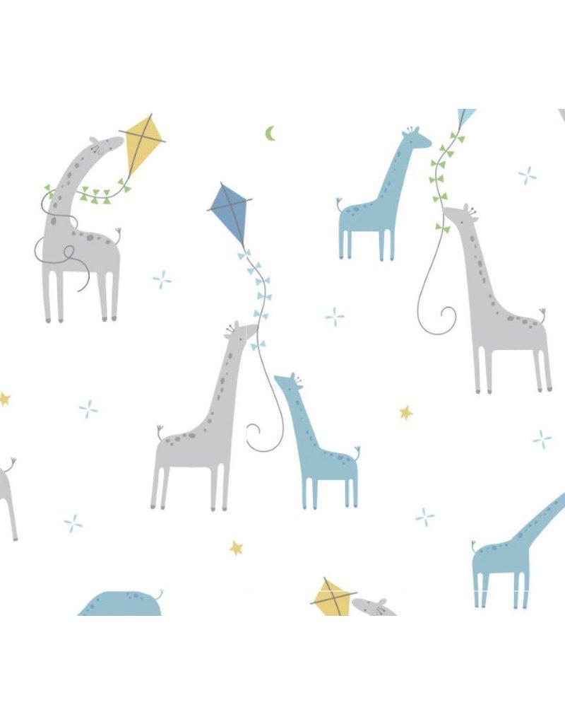 Angel Dear Bamboo Swaddle Blanket with Giraffes by Angel Dear
