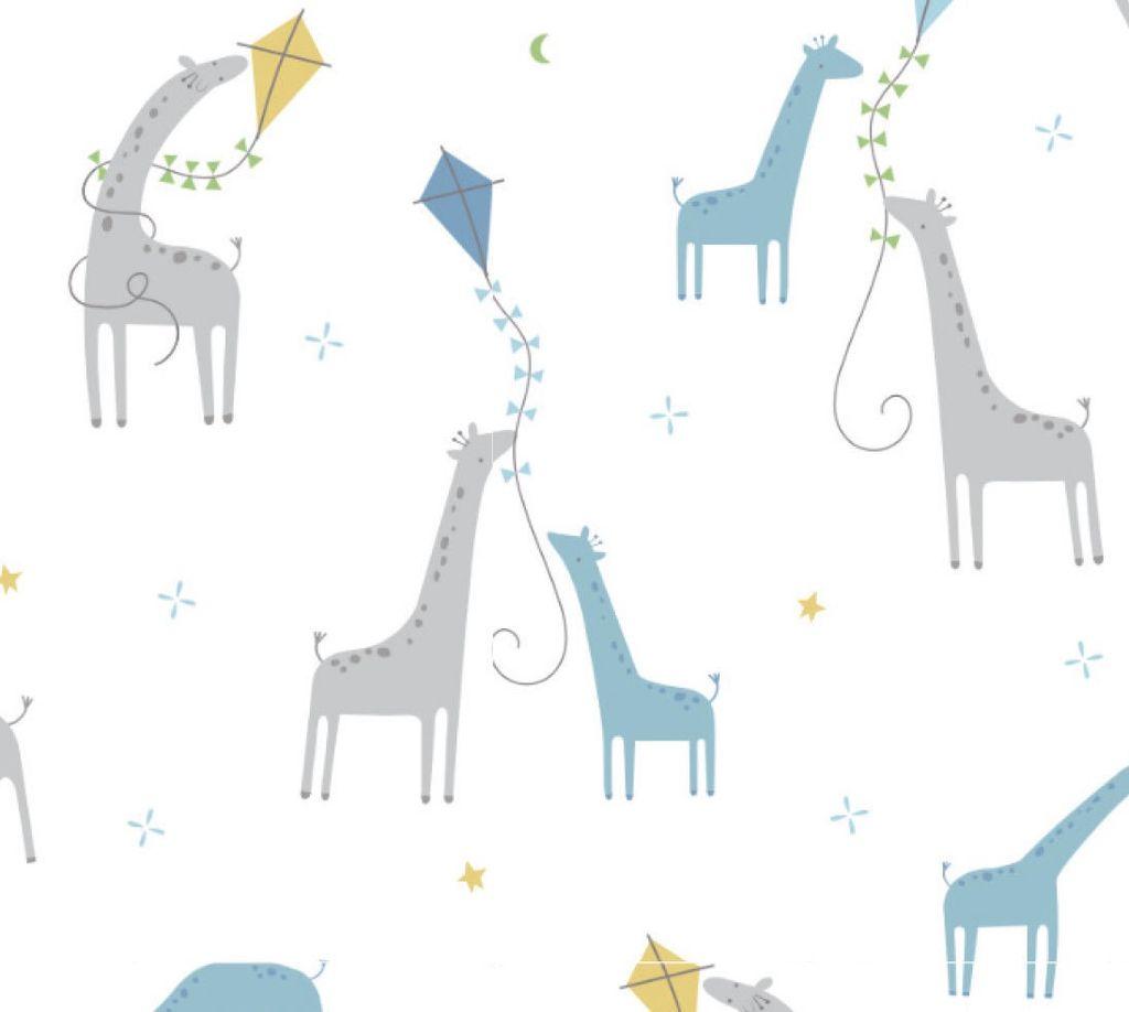 Angel Dear Bamboo Swaddle Blanket -  Giraffes