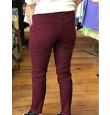 Ronnie Salloway Deep Wine Jeggings