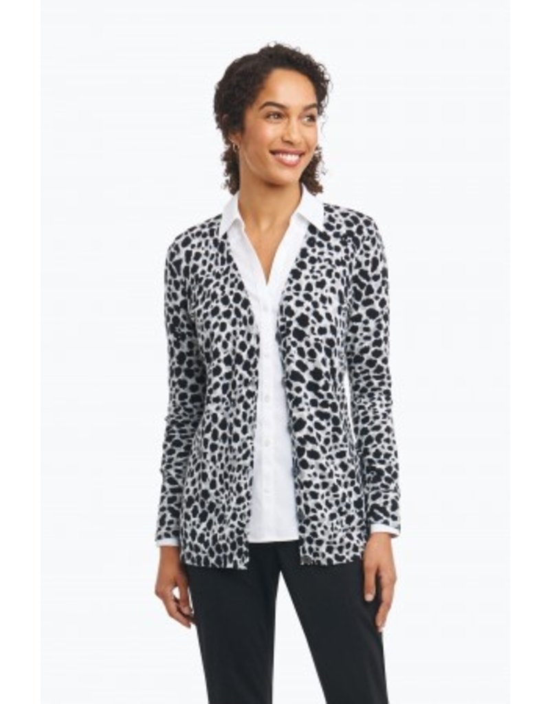 Foxcroft Leopard Print Cardigan by Foxcroft - Cloud Nine Gifts ...