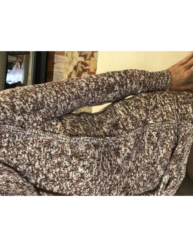 Tribal Long Sleeve Wrap Sweater by Tribal