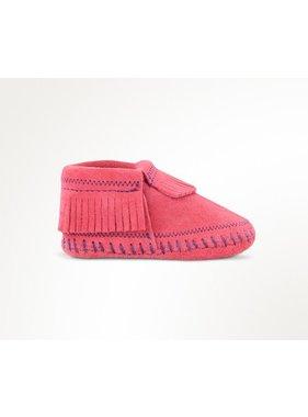 Minnetonka Rosie Bootie in Hot Pink  by Minnetonka