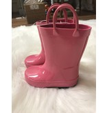 Trimfoot Fuchsia Rubber Rain Boot by Trimfoot