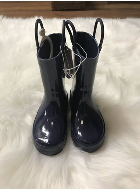 Trimfoot Navy Rain Boots