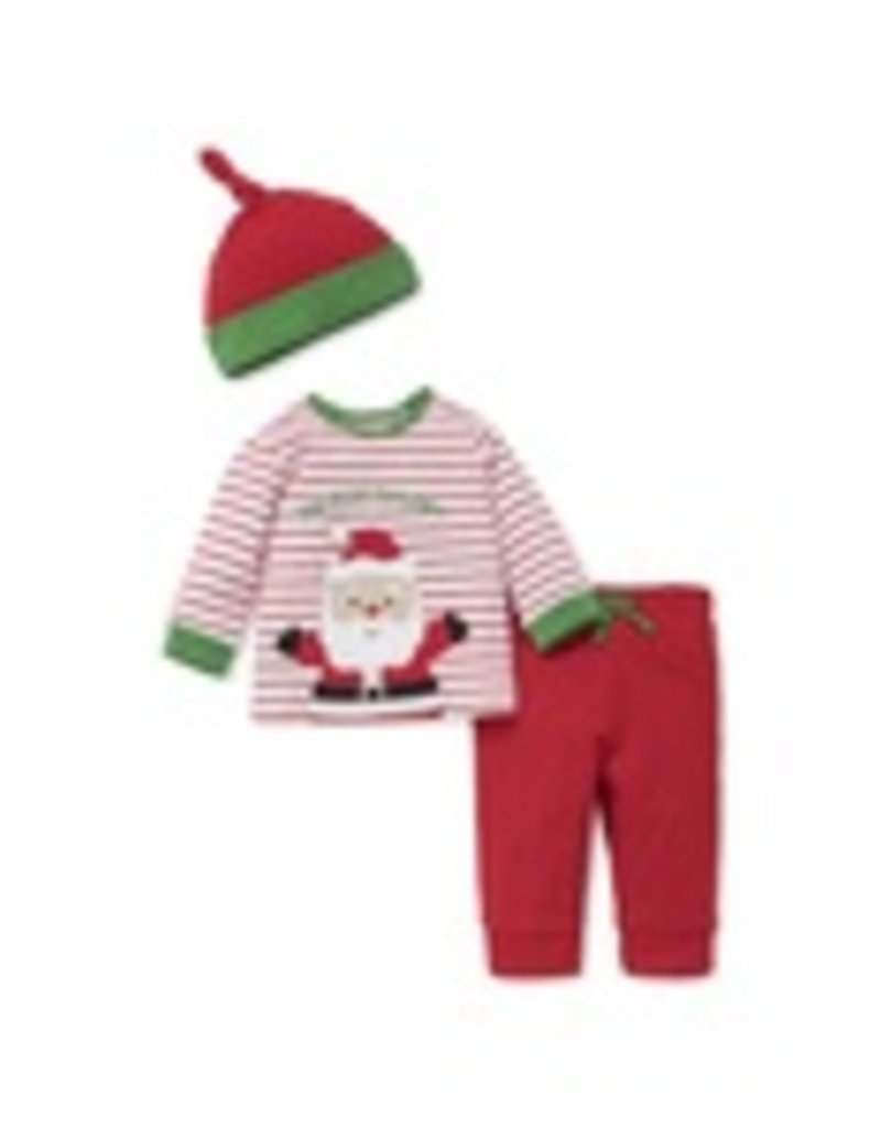 Little Me Santa Jogger Set