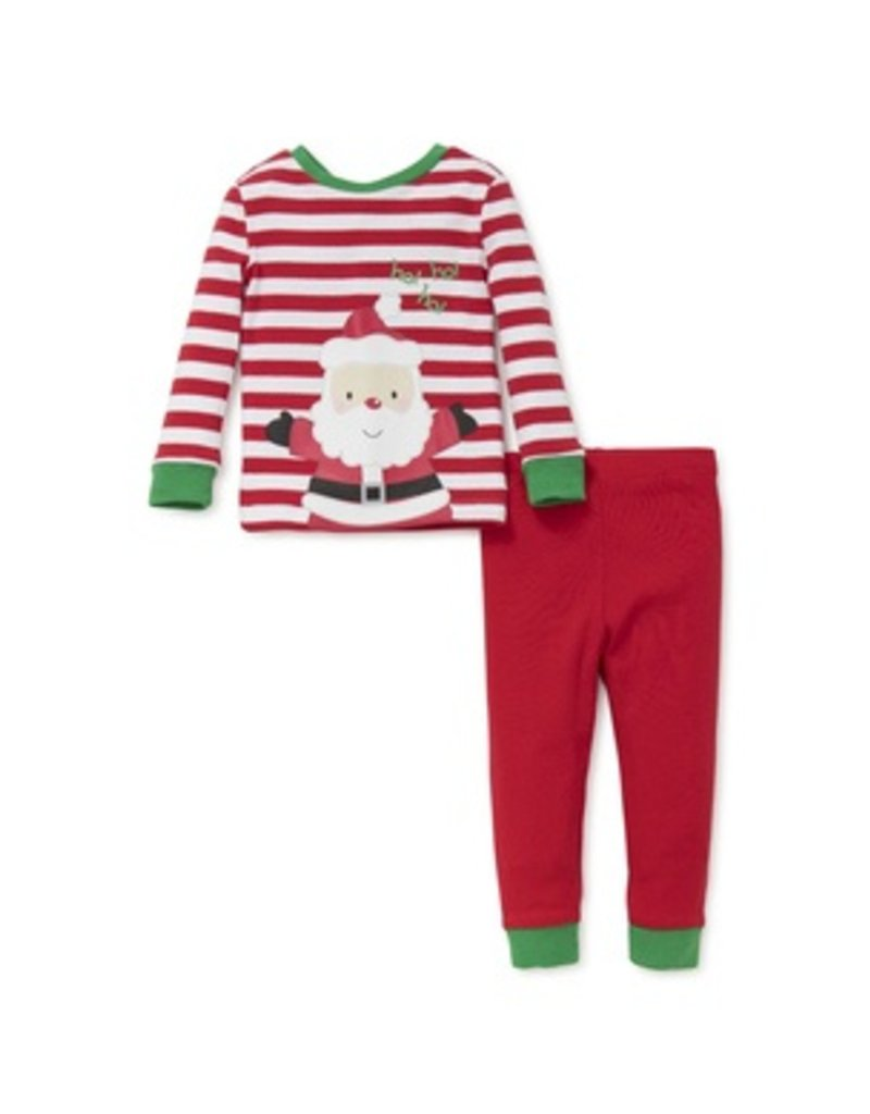 Little Me Santa 2 pc PJ's