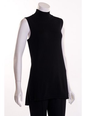Erin London Sleeveless Mock Turtleneck by Erin London
