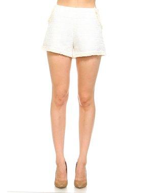 TCEC White shorts