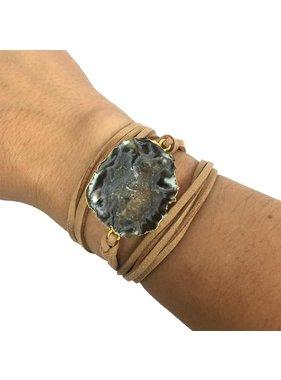 Kristalize Jewelry Wrap bracelet/ choker