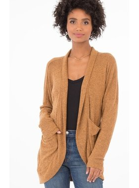 Z Supply The Brushed Rib Sweater Cardi