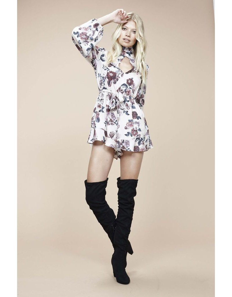 House Of Quirky Toulouse Playsuit