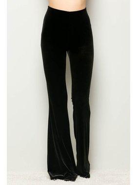 Adrienne Velvet Flare Pants