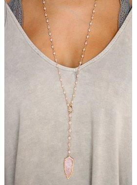 Caroline Hill Ansley Arrowhead Long Y Necklace