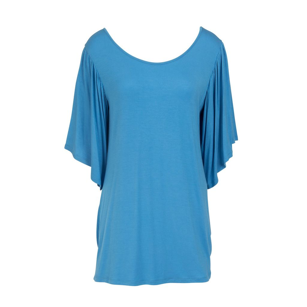 Mountain Mamas Ruffle Sleeve Tunic
