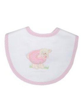 3 Marthas Bib with Little Lamb Applique by 3 Marthas'