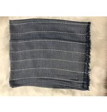 "Saro Trading Striped Design Scarf - 33""x75"""