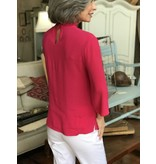 Buur Fashion Cherry Collared Top