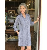 Foxcroft Miri 3/4 Sleeved Dress