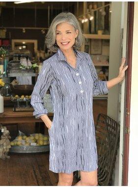 Foxcroft Miri 3/4 Sleeved Dress