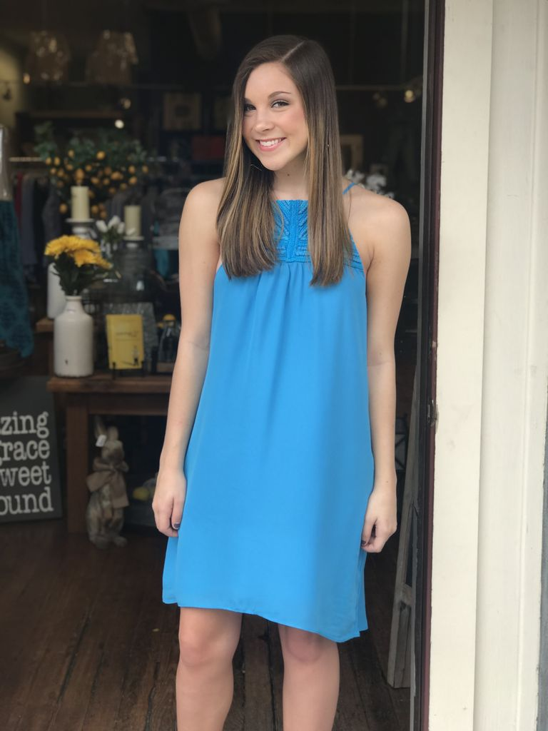 Buddy Love Wholesale Coronado Dress in Turquoise
