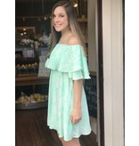 Buddy Love Wholesale Madddox Mint Snake Print Dress