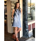 House Of Quirky Highlight Stepped Hem Dress