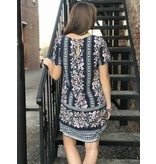 House Of Quirky In Bloom Tee Dress