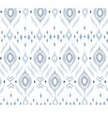 """Angel Dear Bamboo Swaddle Blanket - Blue Ikat - 47""""x47"""""""