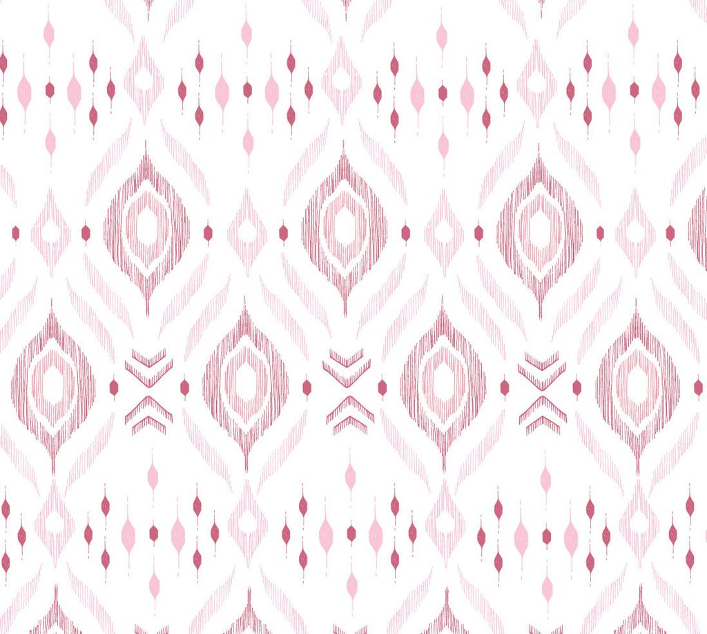 Angel Dear Bamboo Swaddel Blanket - Pink Ikat