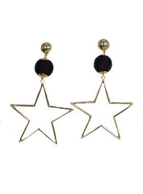 Kristalize Jewelry Alex Star Earrings