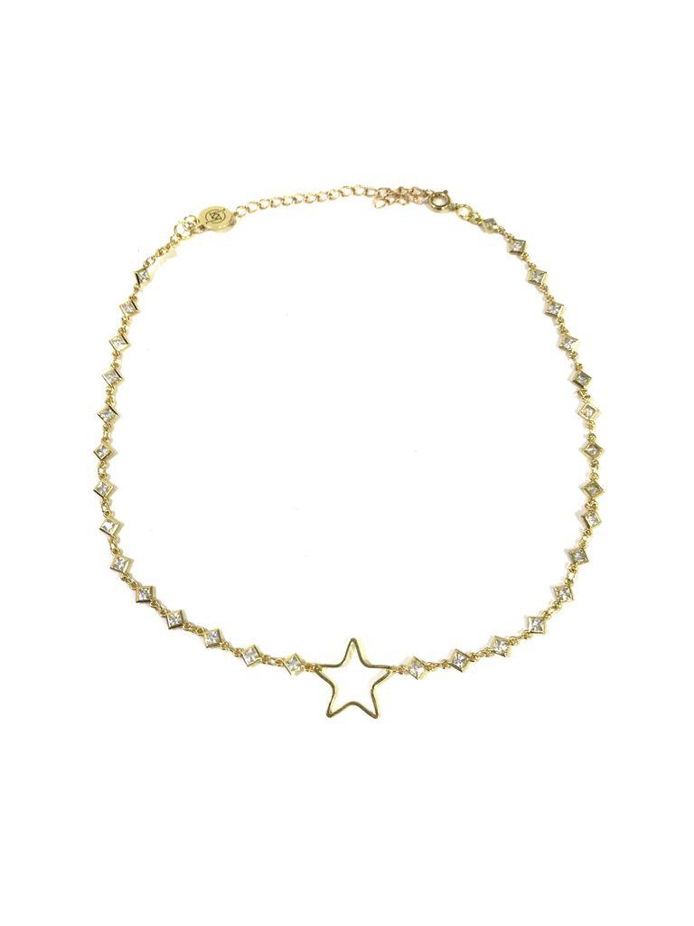 Kristalize Jewelry Dana Star Choker