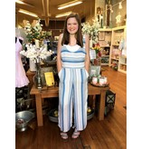House Of Quirky Stripe Jumpsuit