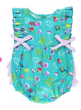 Ruffle Butts Sweet Meadow Ruffle Romper