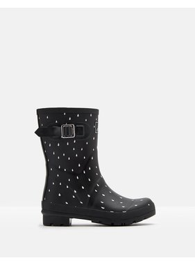 Joules Molly Mid Height Printed Welly