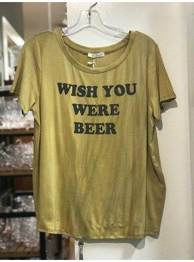 Honey Punch Wish You Were Beer Tee