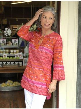 rockflowerpaper Anafi Pink Beach Tunic