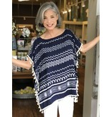 Top It Off Zig Zag Coverup - One Size