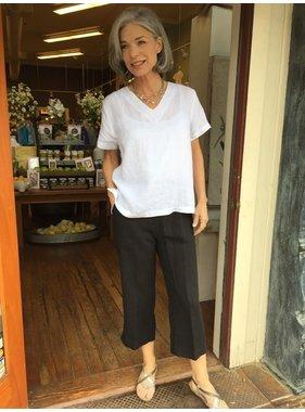 Mosaic Clothing Linen Capri Pants by Mosaic Clothing