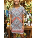 House Of Quirky Days In Marrakesh T Shirt Dress
