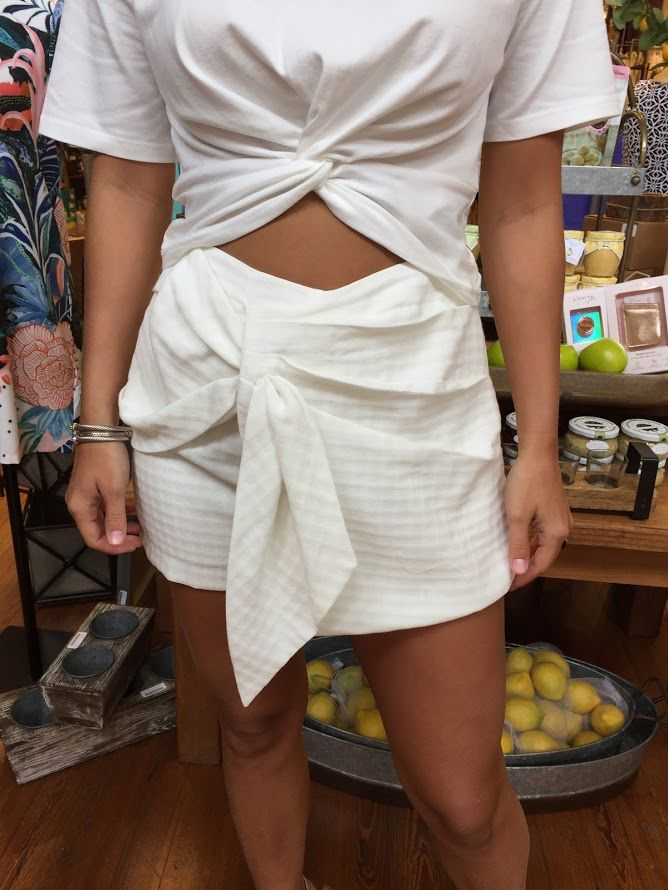 House Of Quirky Gingham Skort