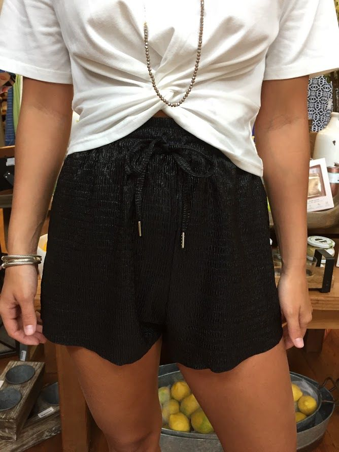 House Of Quirky Metallic Short